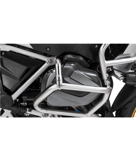Stainless steel reinforcing strut for original BMW engine crash bar, BMW R1250GS / R1250GS Adventure