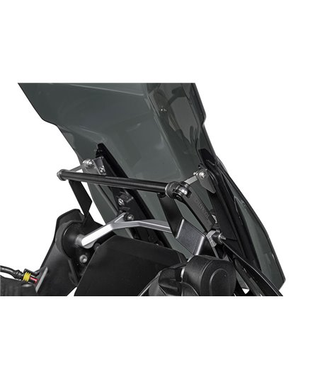 Windscreen stabilizer with GPS mounting bracket for BMW R1250GS/ R1250GS Adventure/ R1200GS (LC)/ R1200GS Adventure (LC)