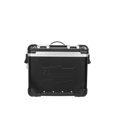 "ZEGA Evo ""And-Black"" aluminium pannier, 31 litres, right"