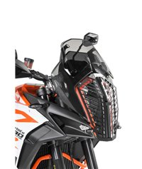 Headlamp guard, aluminium, with quick release fastener for KTM 1290 Super Adventure S/ R (2017-2020) *OFFROAD USE ONLY*