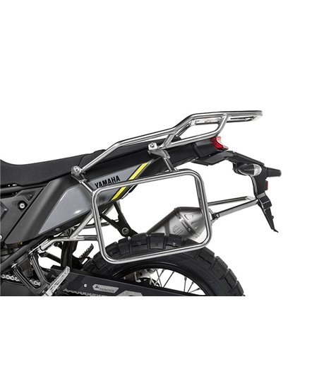 Stainless steel pannier rack for Yamaha Tenere 700