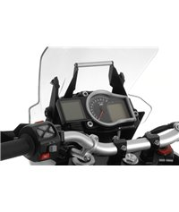 GPS mounting adapter above instruments, black, for KTM 1050 Adventure/ 1090 Adventure/ 1190 Adventure/ 1190 Adventure R