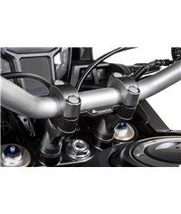 Handlebar riser joined, 20 mm, type 44, for Honda CRF1000L Africa Twin, black