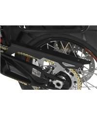 Chain guard, black anodised, for KTM 1050 Adventure/ 1090 Adventure/ 1290 Super Adventure/1190 Adventure/ 1190 Adventure R